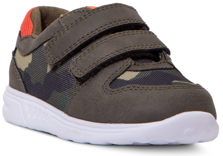 Полуботинки для мальчика Barkito Хаки ботинки и полуботинки barkito krs18116 1