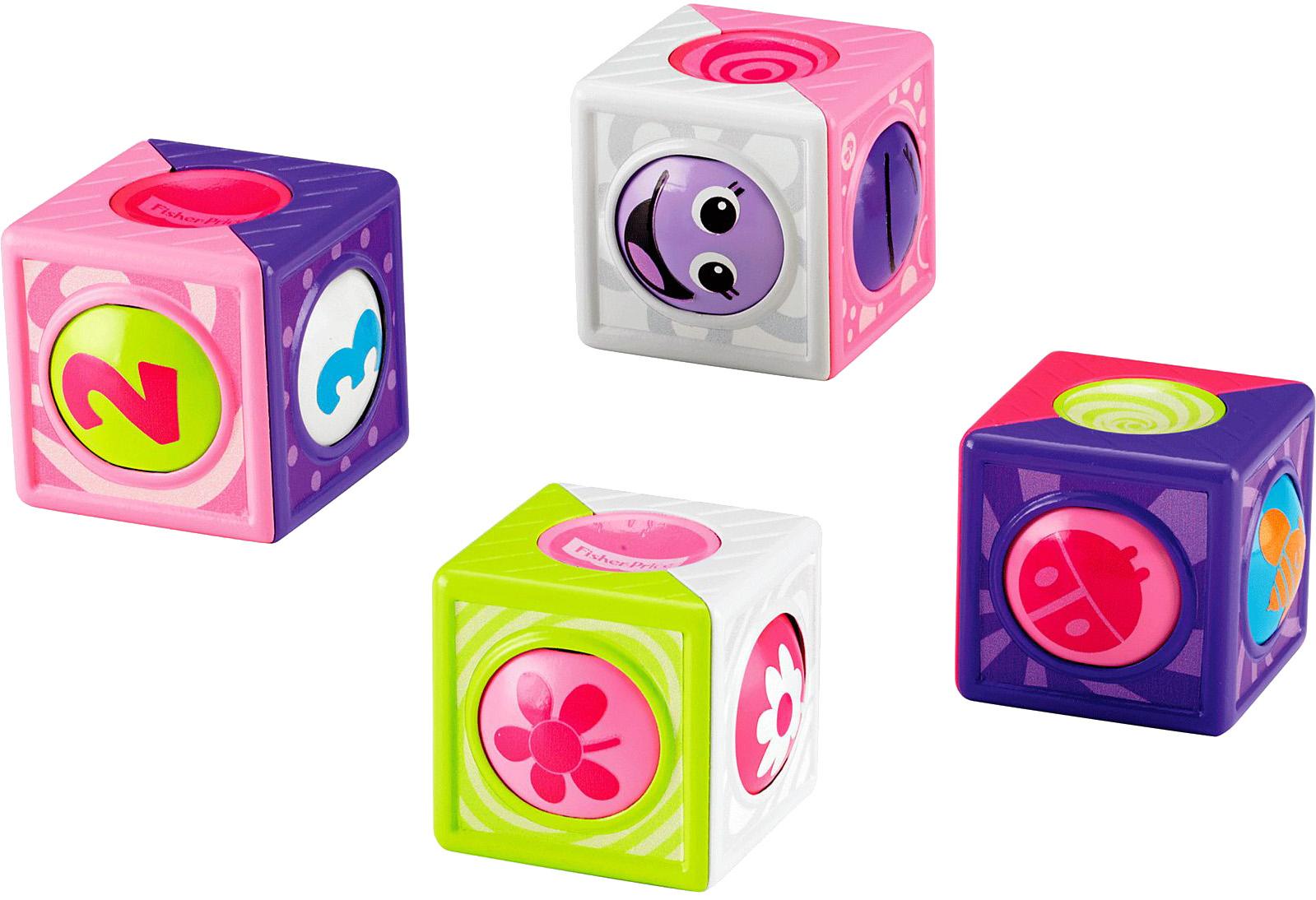 Купить Кубики для малышей, Волшебные, 1шт., Fisher Price CBL33, Китай, в ассортименте
