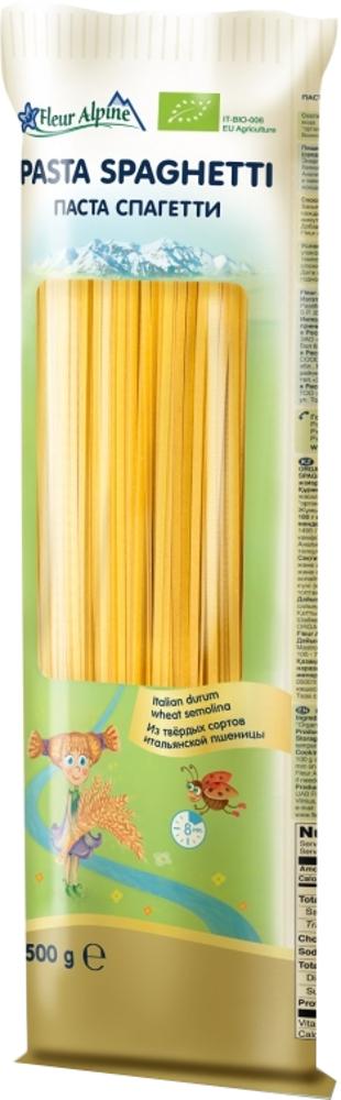 Макаронные изделия Fleur Alpine Спагетти Organic 500 г