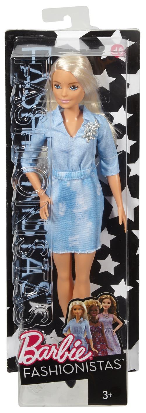 Barbie Barbie Игра с модой barbie кукла безграничные движения цвет одежды розовый