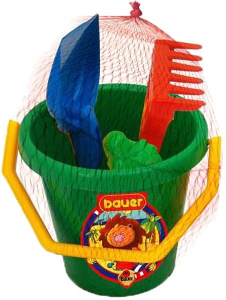 Игрушки для песка, Кроха с ведром, Bauer, Россия  - купить со скидкой