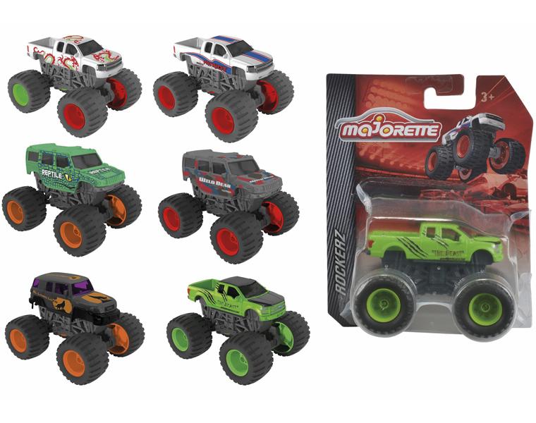 Машинки и мотоциклы Majorette БигФут 9 см машинка majorette фермерская техника 7 см в ассортименте