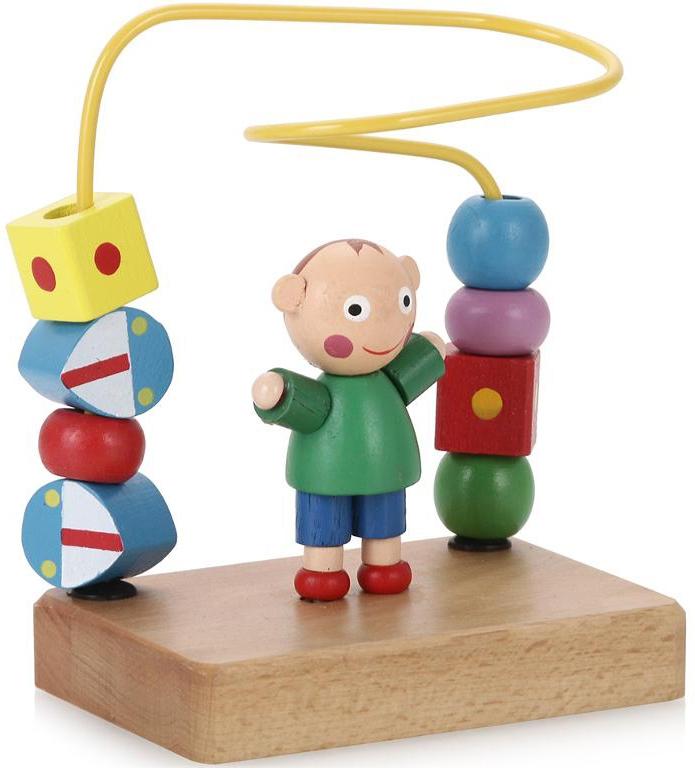 Деревянные игрушки Папа Карло Мальчик папа карло развивающая игрушка яблоня