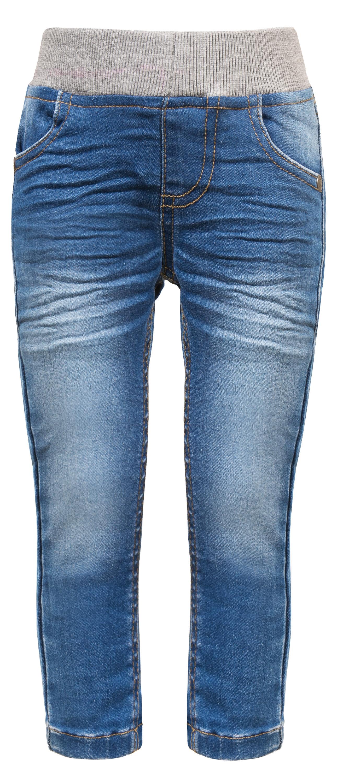 Джинсы Barkito Брюки модель Джинсы для девочки Barkito Олененок, голубые брюки джинсы и штанишки s'cool брюки для девочки hip hop 174059