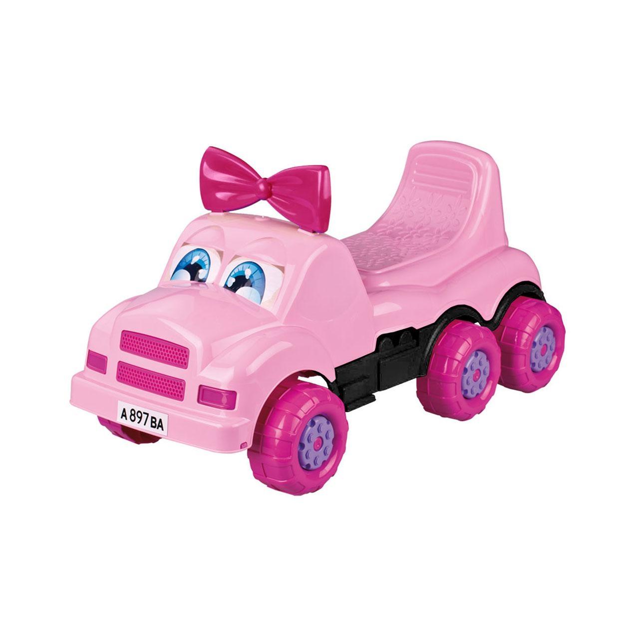 Машинки-каталки и ходунки Веселые гонки Каталка-машинка Весёлые гонки розовая машинки каталки и ходунки спектр гонка