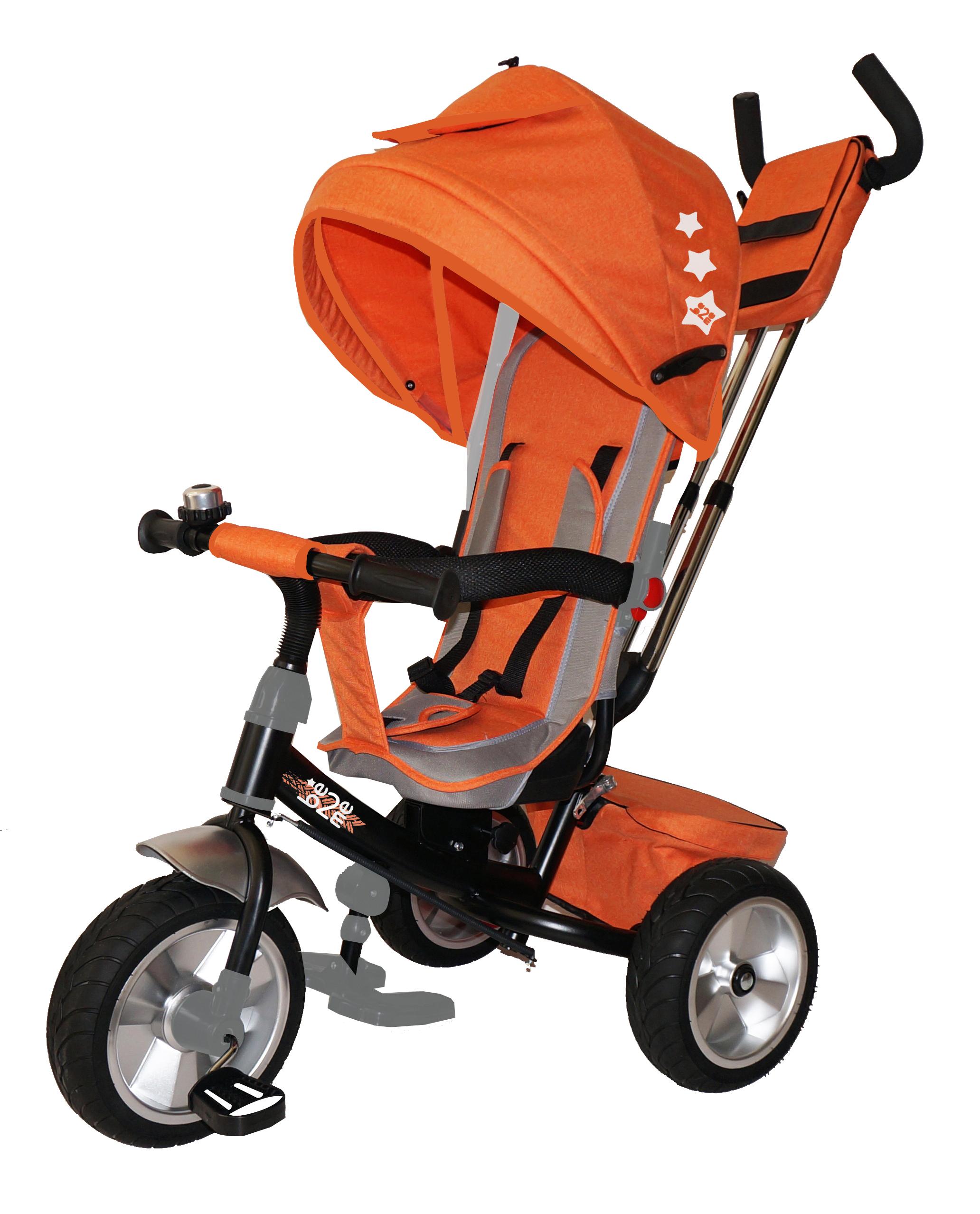 Трехколесный велосипед Be2Me оранжевый