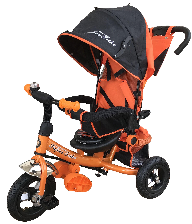 Купить Детские трехколесные велосипеды, WS610 оранжевый, Super trike next generation, Китай, металл, пластик, ткань