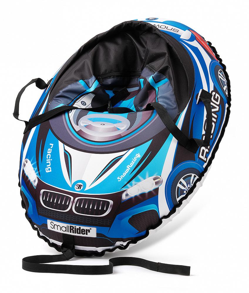 Купить Тюбинг-санки, Snow Cars 3 МВ синий, 1шт., Small Rider 1425149, Россия, blue
