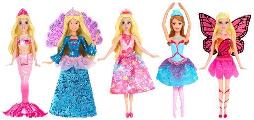 Barbie Barbie Мини-кукла Barbie «Сказочный мир» 12 см в ассортименте barbie мини кукла друг челси