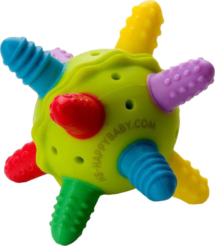 Фото - Прорезыватель-погремушка Happy baby Silicone Teether погремушка прорезыватель baby