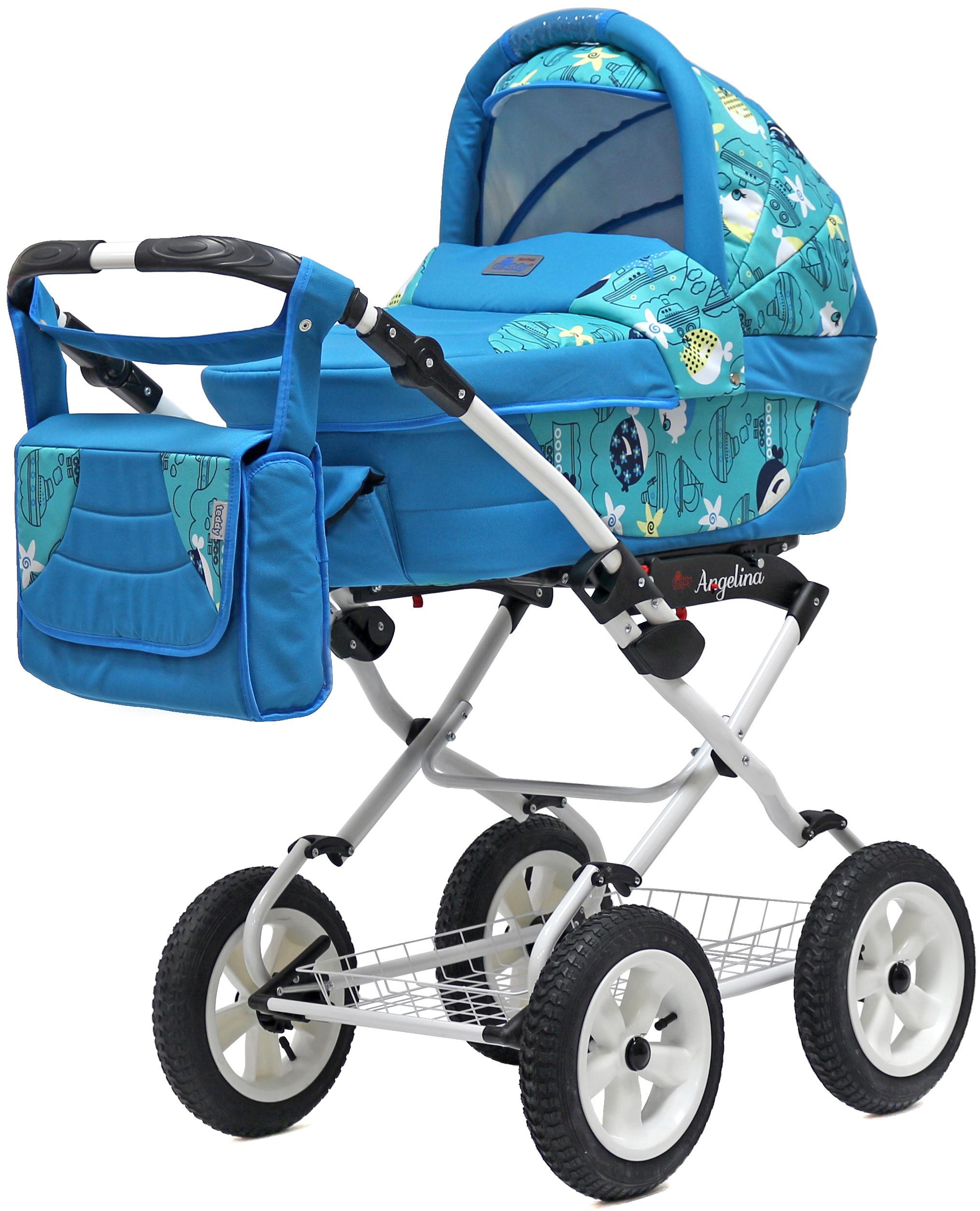 Детские коляски BartPlast Teddy Angelina Lite PKL коляска прогулочная teddy bartplast diana 2016 pkl ro02 бежевый