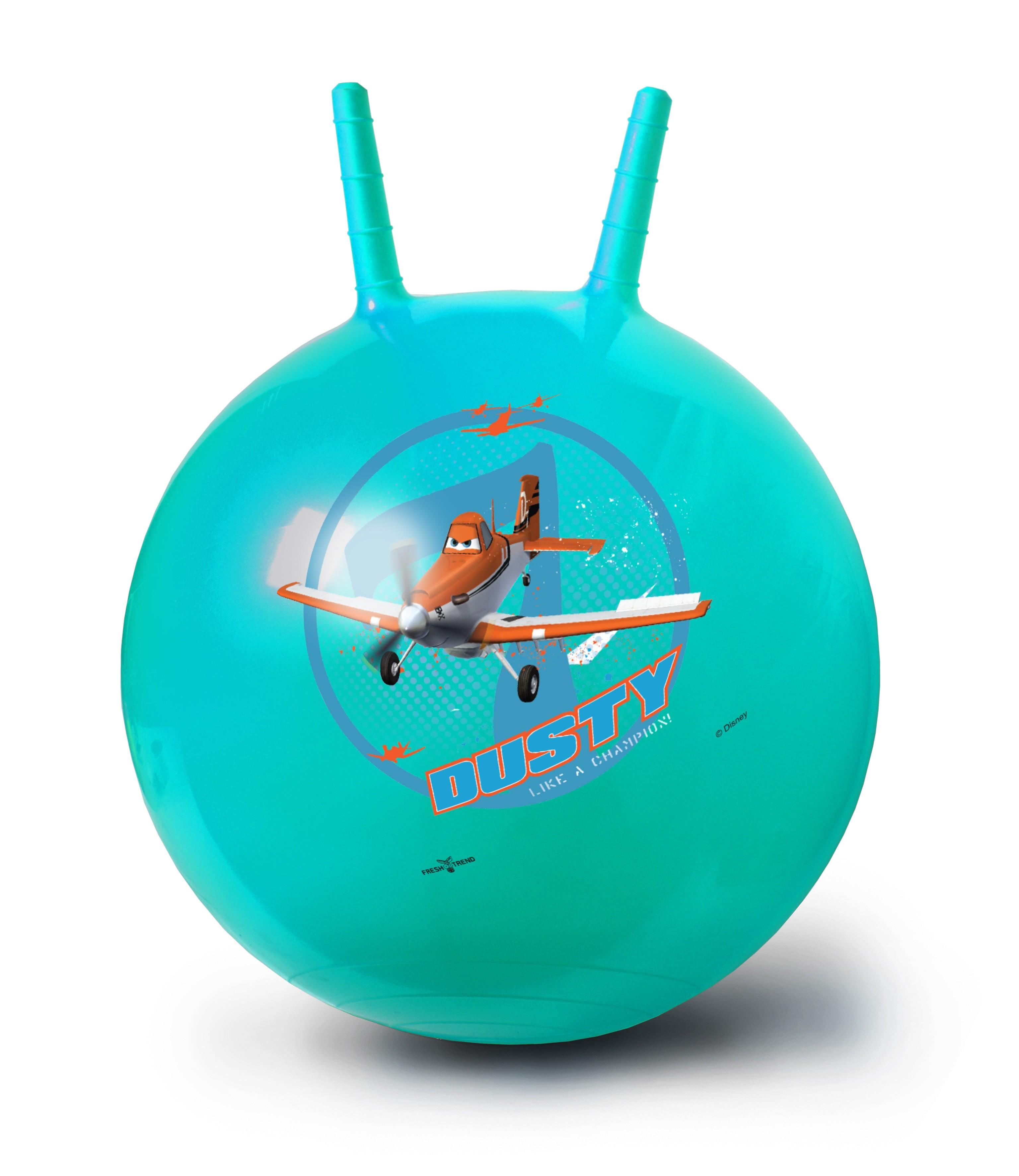 Мяч-попрыгун Fresh Trend Самолёты 50 см stantoma игрушка попрыгун мяч с рогами цвет красный 55 см