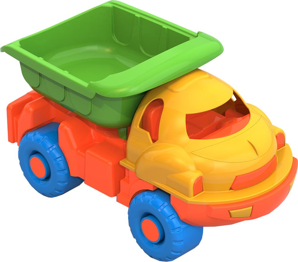 Самосвал Нордпласт Малыш машинка игрушечная нордпласт дорожная малыш