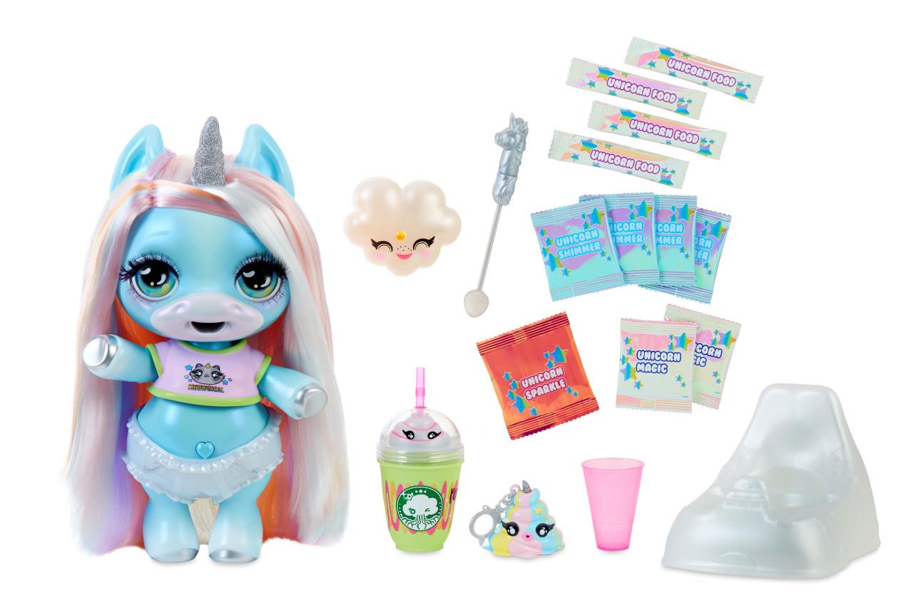 Фигурки героев мультфильмов Poopsie Surprise Unicorn Единорог голубая и розовая вода розовая ааша хербалс натуральная 200мл