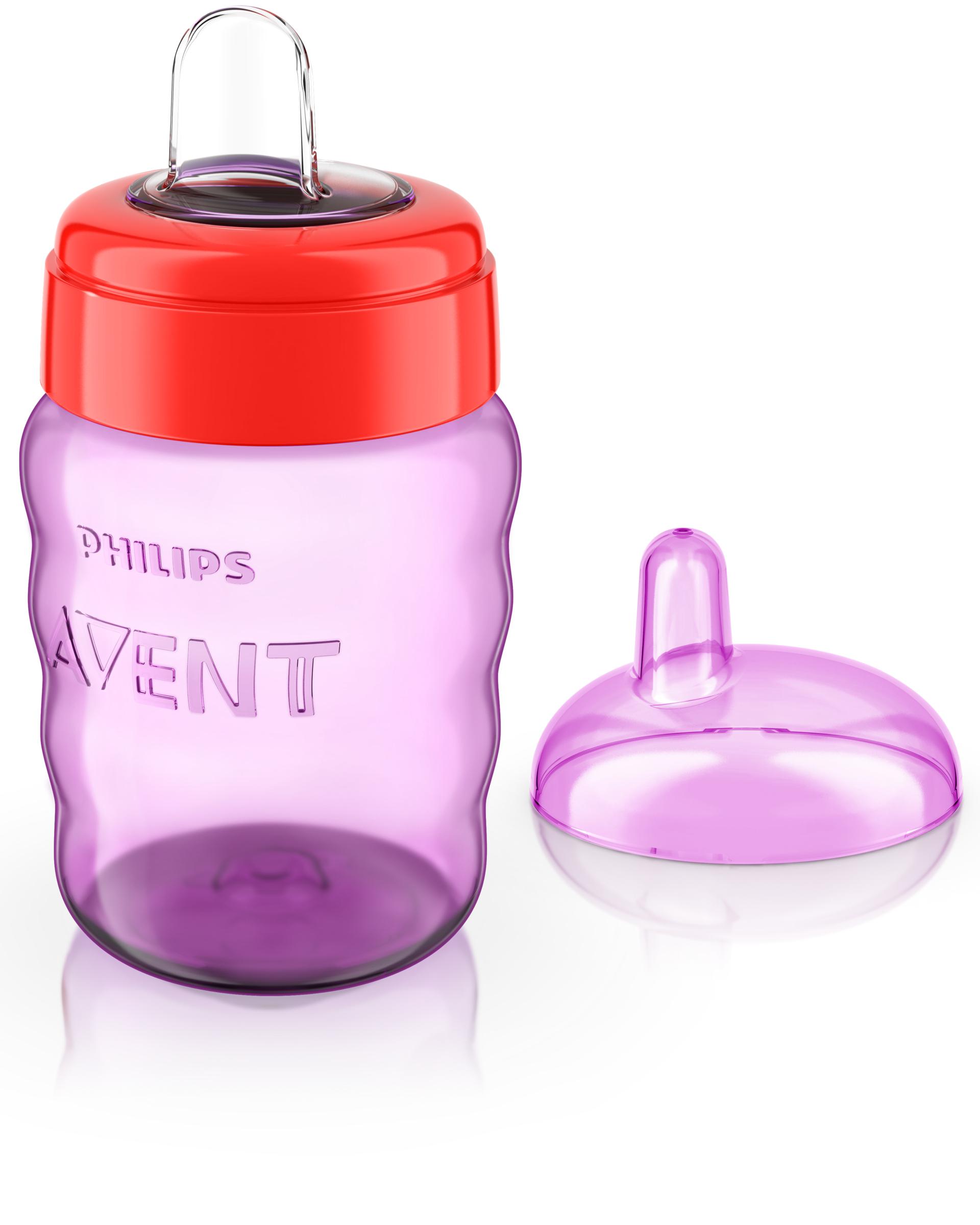 Чашки  поильники Philips AVENT    «Comfort» с носиком  9 мес. 260 мл в асс.
