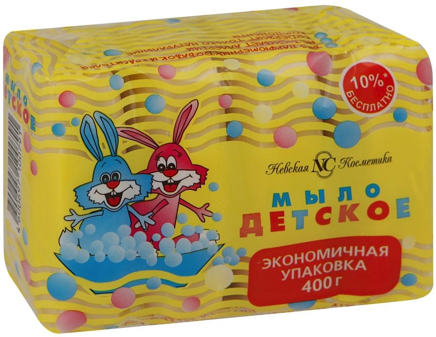 Мыло Невская косметика Детское 4х100 г невская косметика мыло жидкое детское 300мл