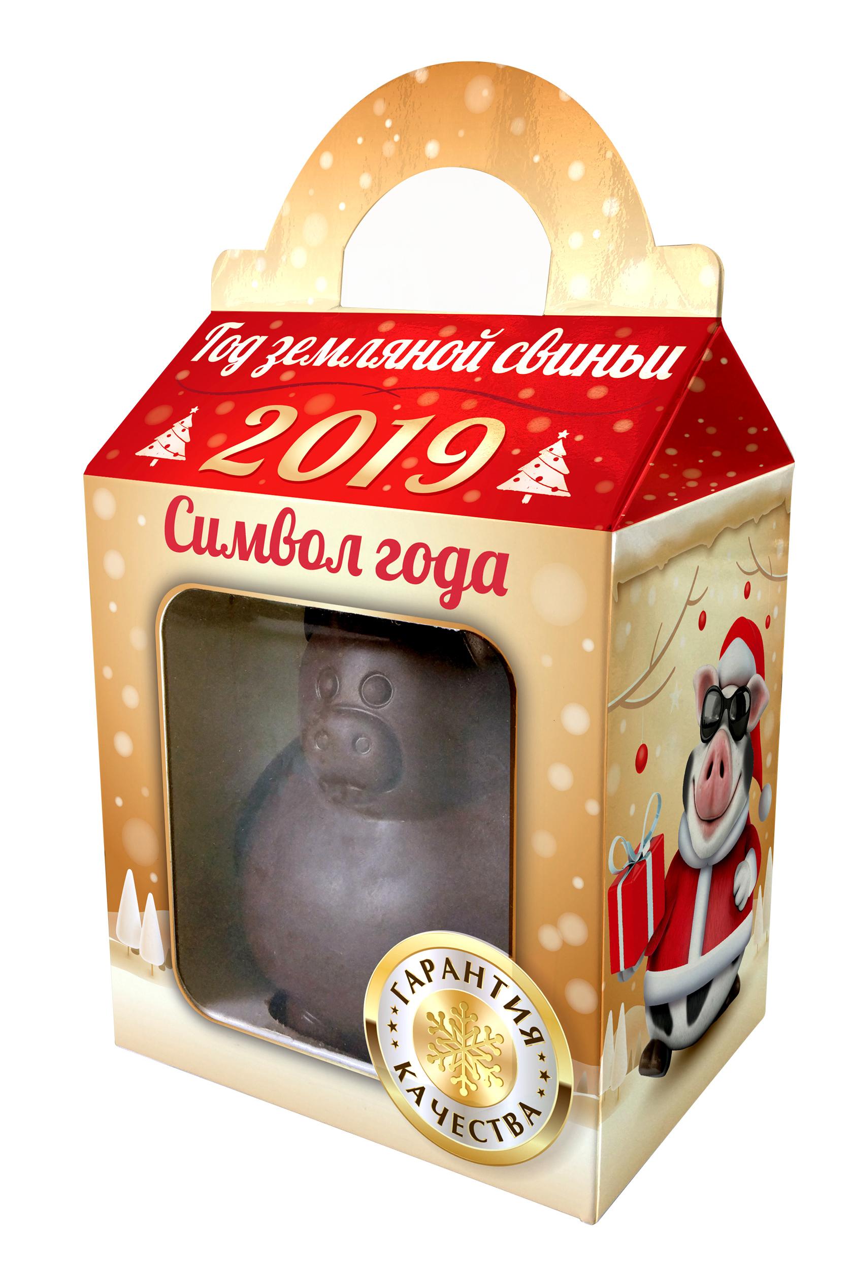 Кондитерское изделие МАК-Иваново «Свинья» в подарочной коробке 90 г