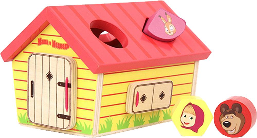 Фото - Сортеры для малышей Маша и Медведь Домик Маши сортеры mertens домик сортер