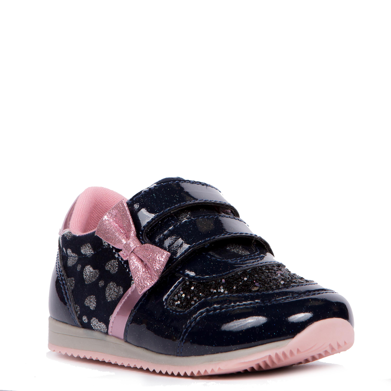 Кроссовки и кеды Barkito Полуботинки типа кроссовых для девочки Barkito, синие полуботинки типа кроссовых для девочки barkito розовый