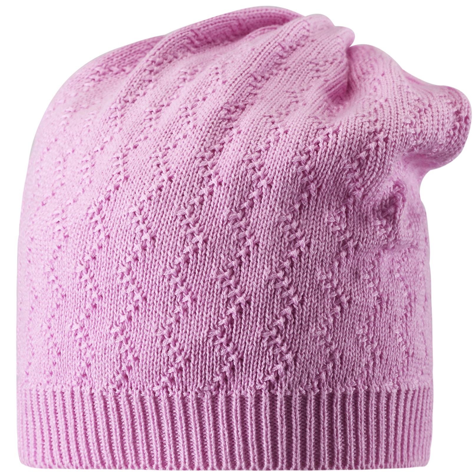 Головные уборы Reima Jaspilite розовый головные уборы reima aqueous розовый