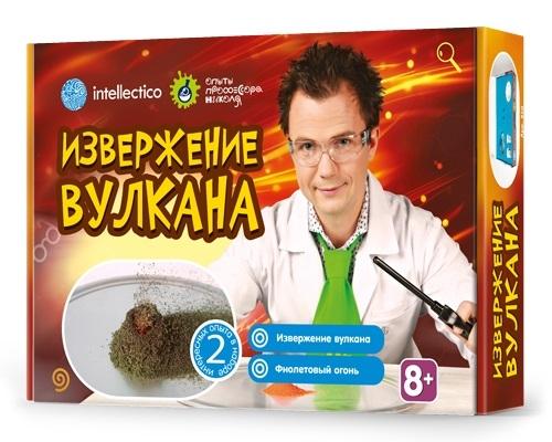Наборы для творчества Intellecticо Извержение вулкана