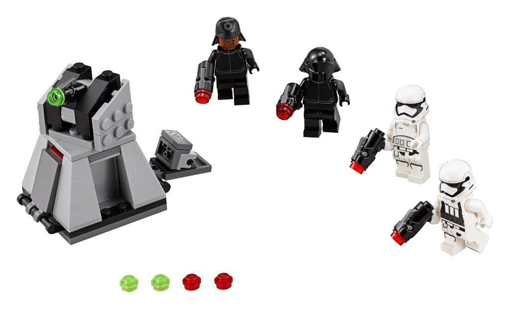 Star Wars LEGO Star Wars TM Боевой набор Первого Ордена lego star wars конструктор боевой набор специалистов первого ордена 75197