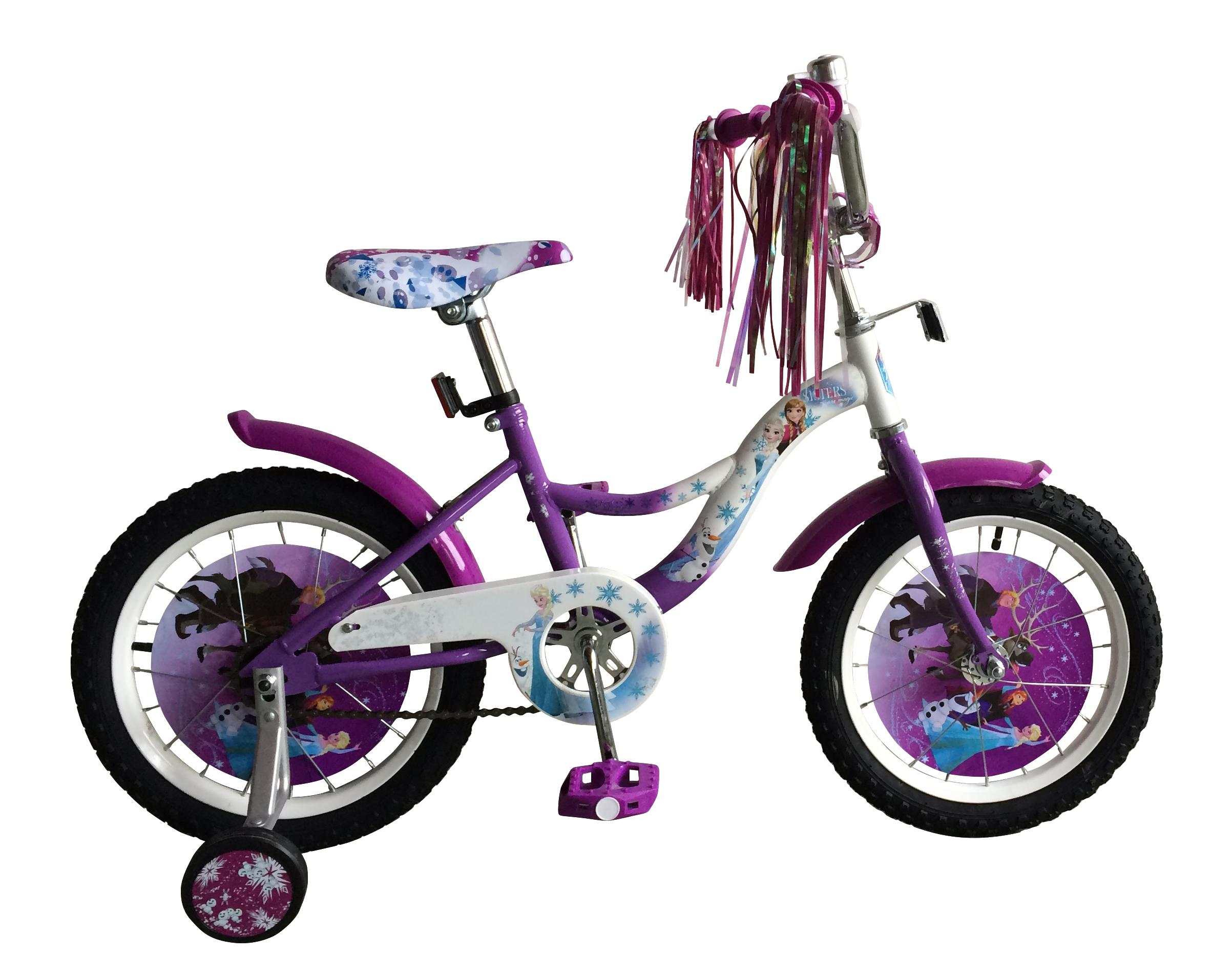 Велосипеды двухколесные Disney Холодное сердце ВН16127К