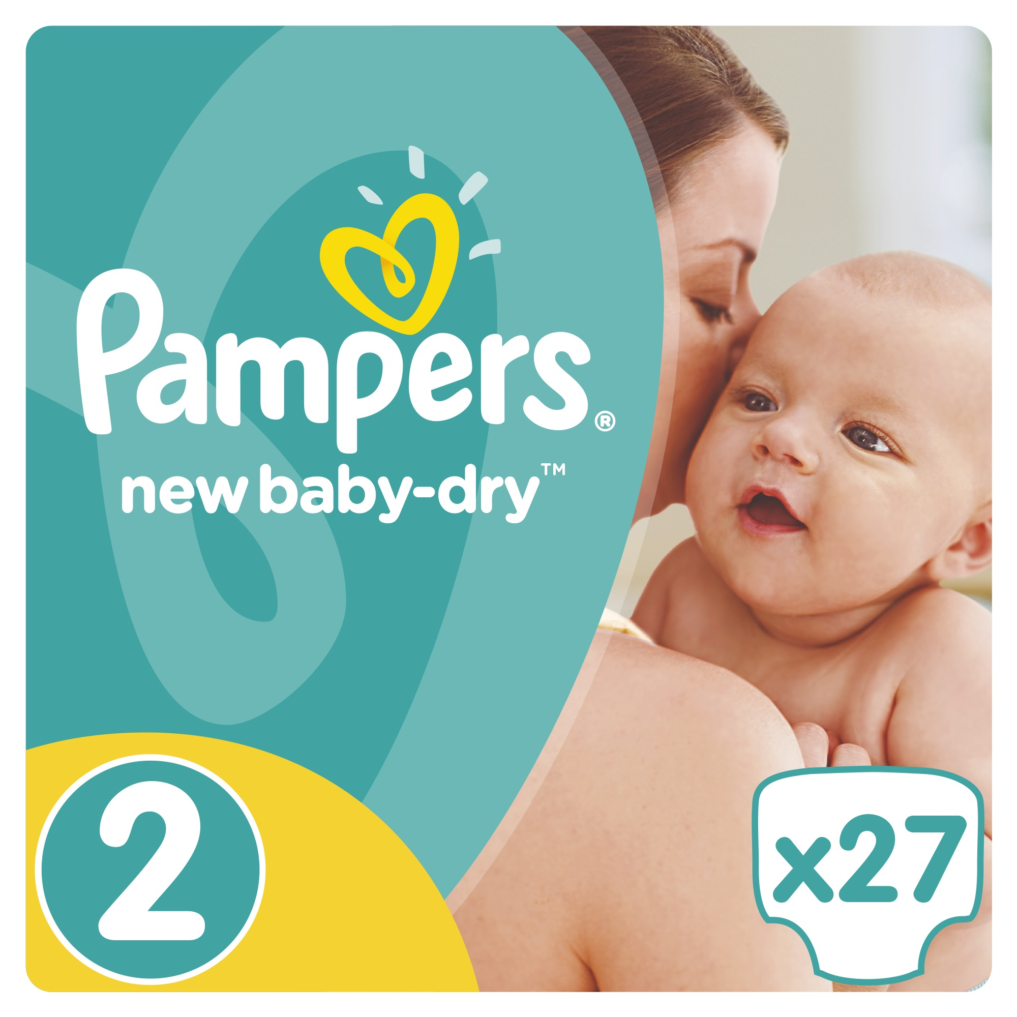 New Baby-Dry 2 (3-6 кг.) 27 шт. PA-81379113