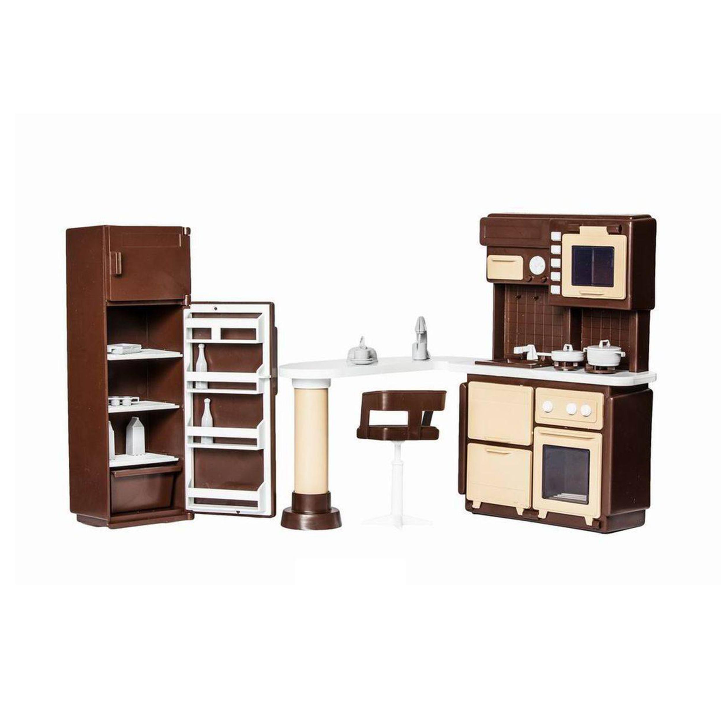 Фото - Игровой набор Огонек Коллекция. Мебель для кухни все для кухни