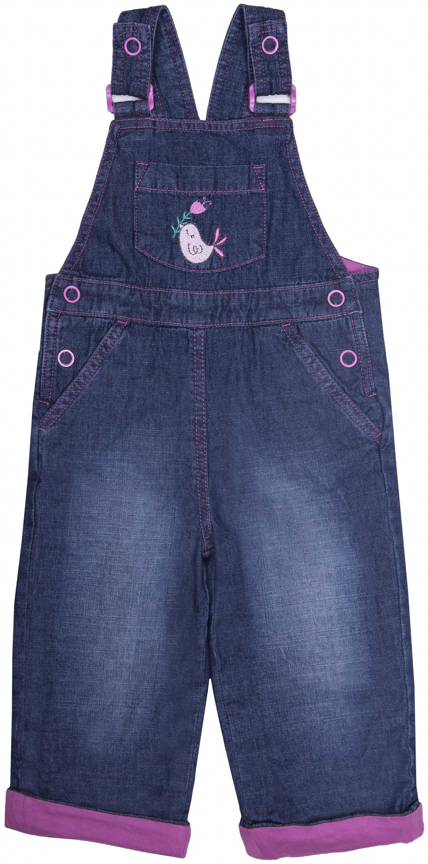 Полукомбинезон джинсовый для девочки Barkito Деним полукомбинезон джинсовый для мальчика barkito деним