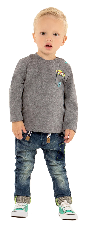 Джемпер Barkito Минимонстр водолазки barkito джемпер с длинным рукавом для девочки barkito северный полюс молочный