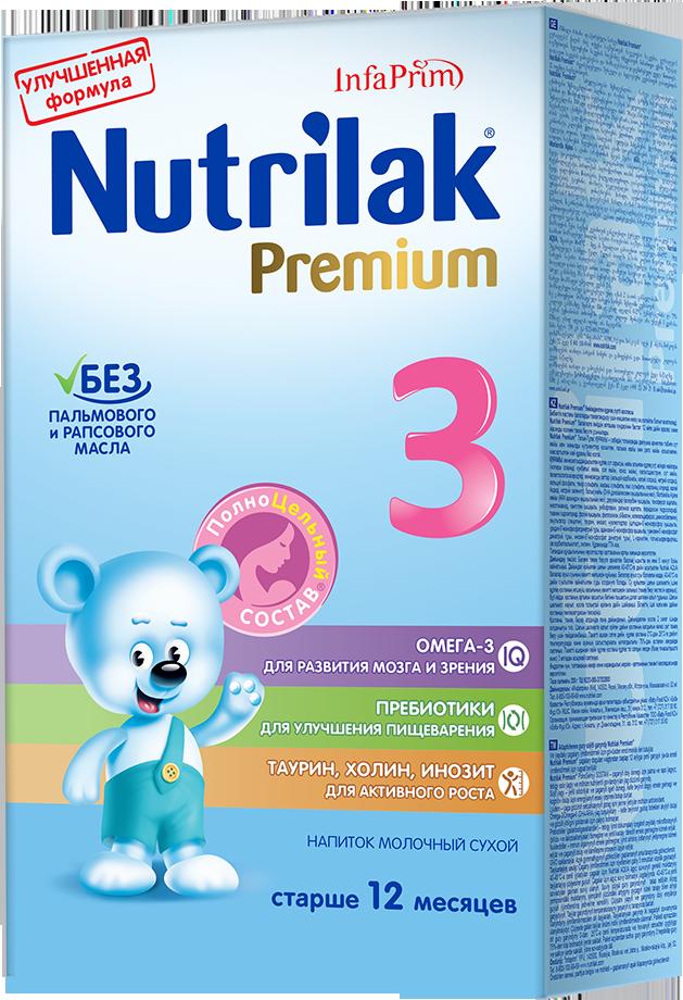 Молочная смесь Nutrilak (InfaPrim) Premium 3 (старше 12 месяцев) 350 г