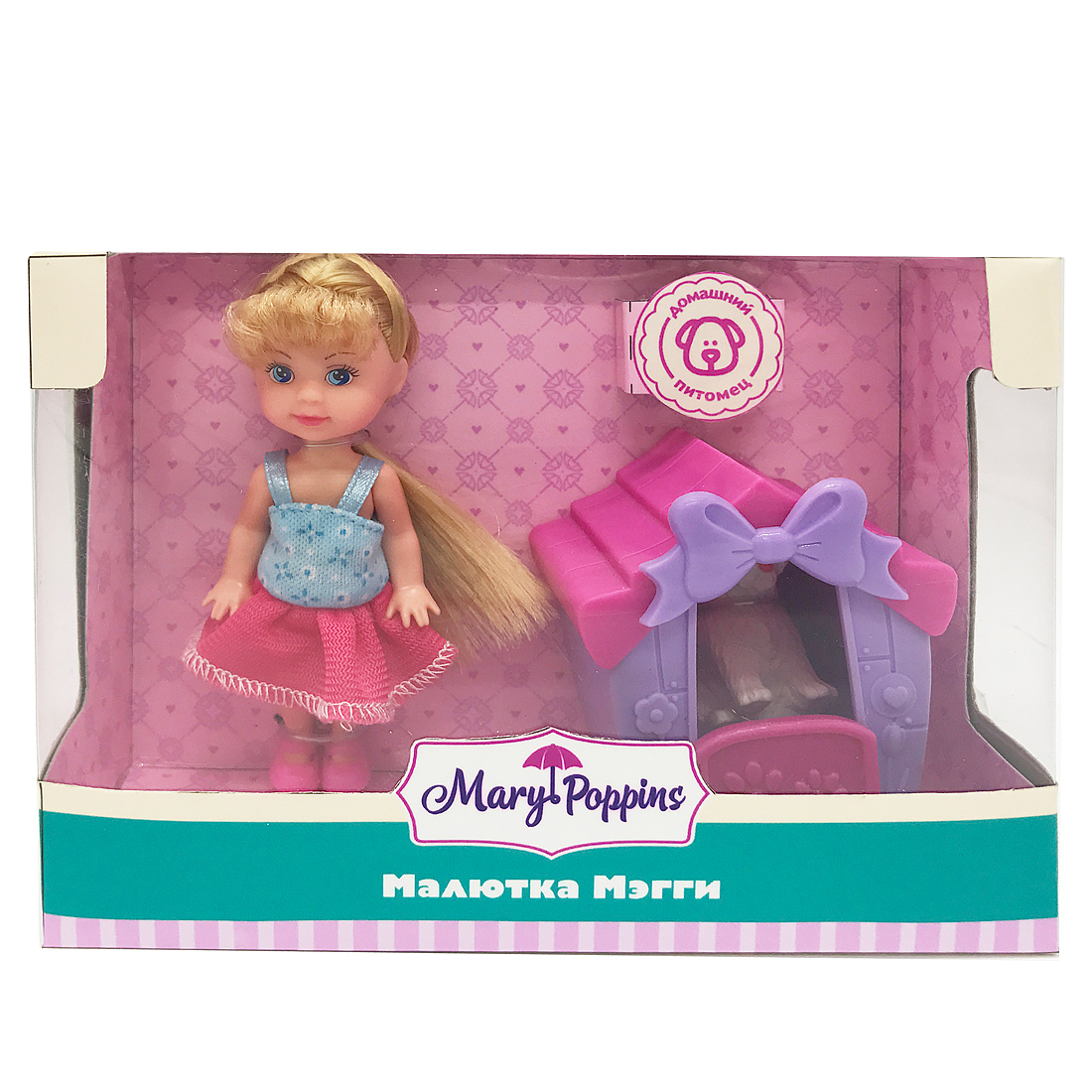 Другие куклы Mary Poppins Малютка Мэгги: Дом для питомца все цены