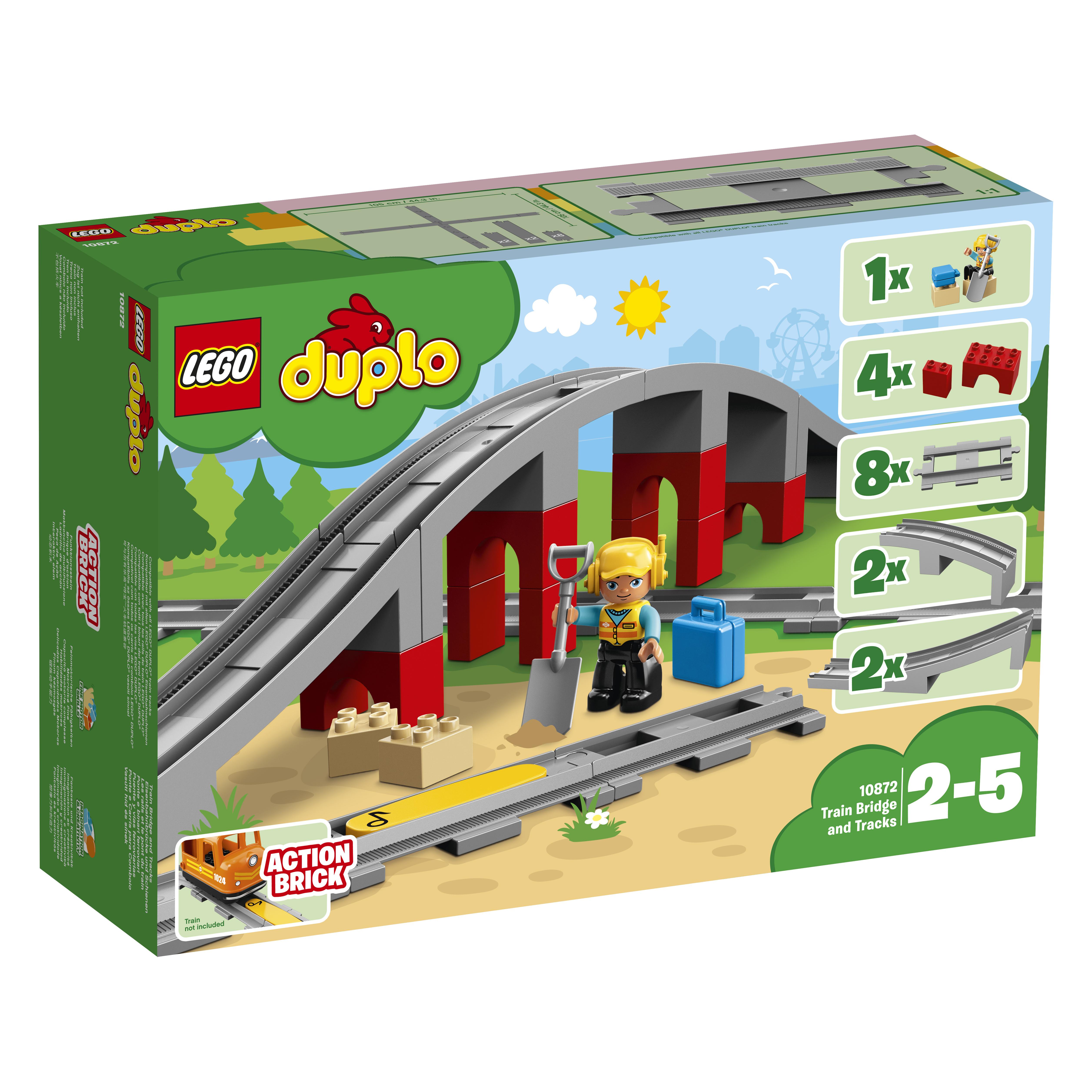 LEGO DUPLO LEGO Железнодорожный мост
