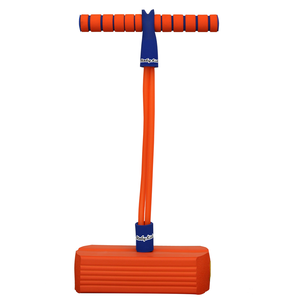 Активные игры Moby Kids Moby-Jumper оранжевый cutout dolman sleeve jumper