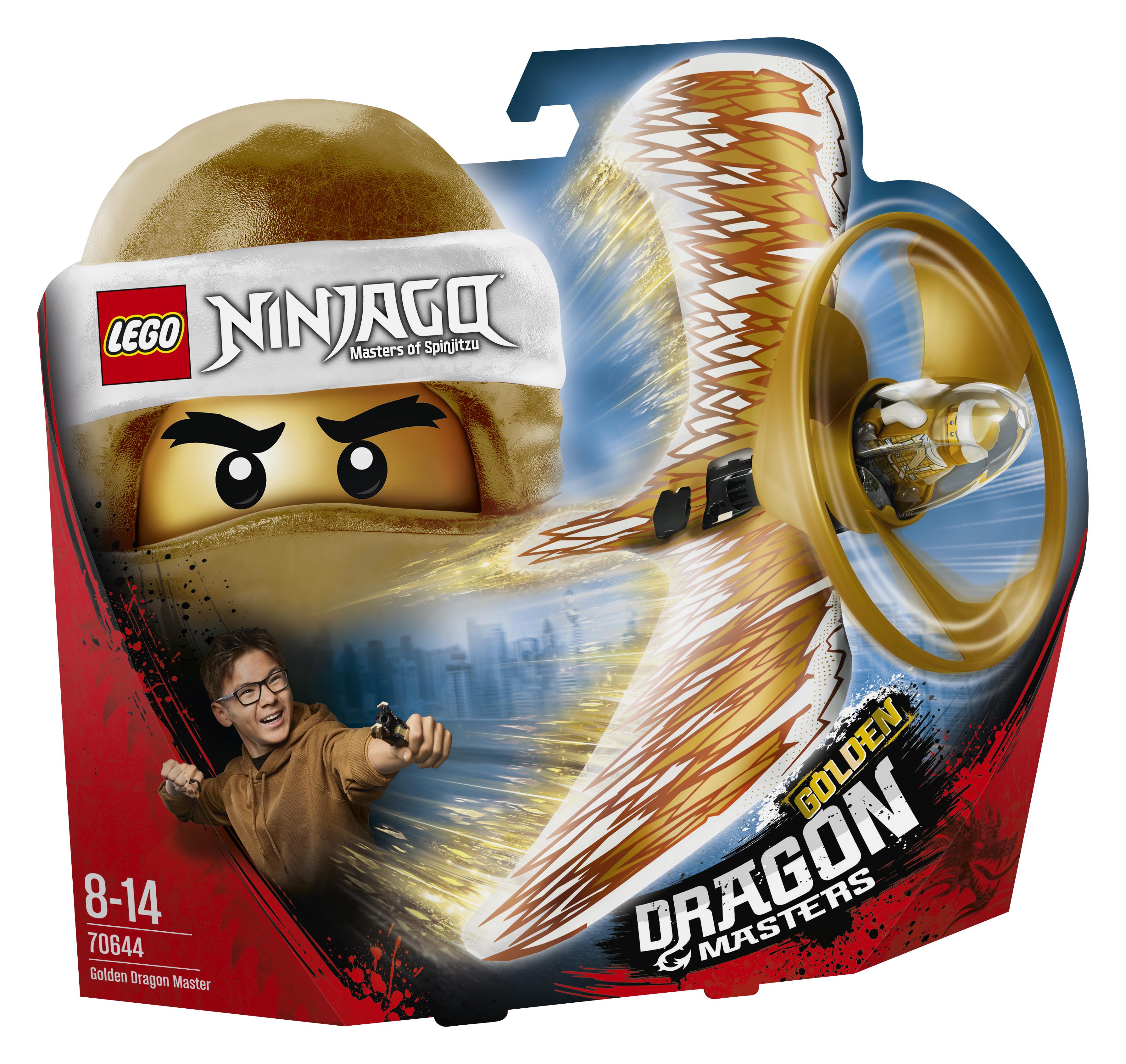 LEGO LEGO Мастер Золотого дракона lego 70735 король ронина