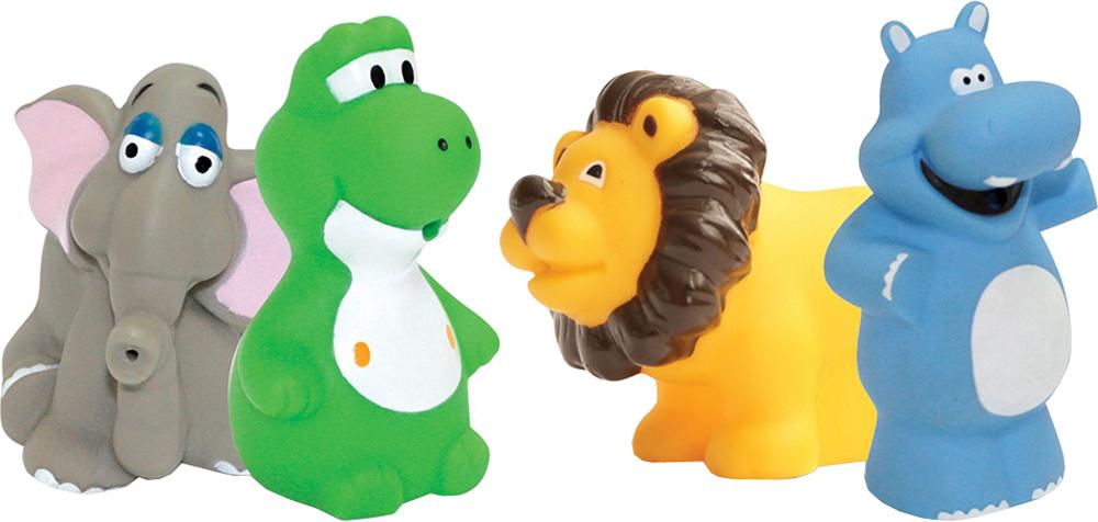 Игрушки для ванны LUBBY Африка игрушки для ванны lubby набор игрушек для купания утята