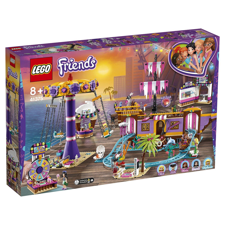 Конструктор LEGO Friends 41375 Прибрежный парк развлечений цена