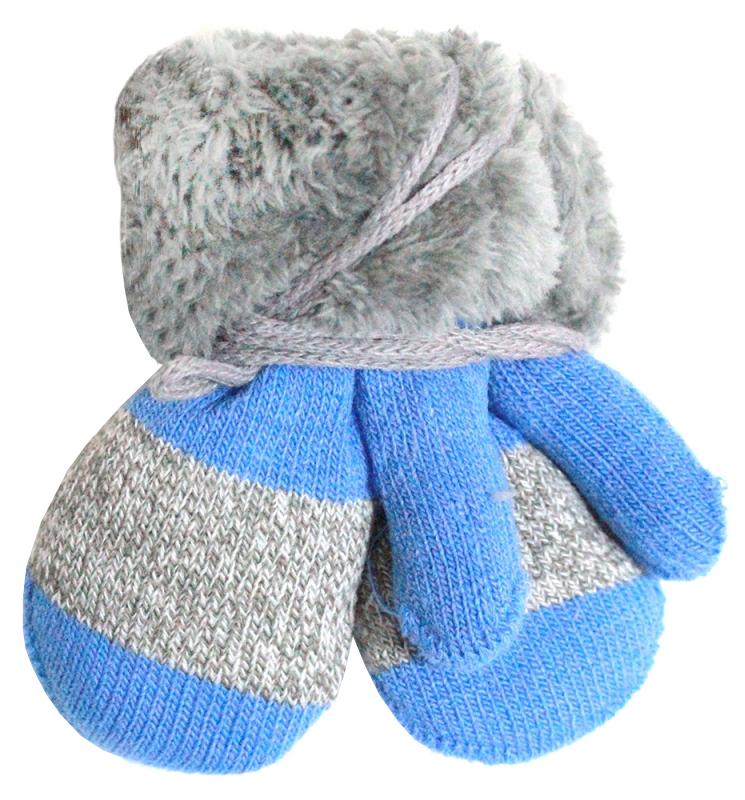 варежки  перчатки и шарфы Варежки и перчатки Принчипесса Варежки для мальчика Принчипесса, серо-голубые