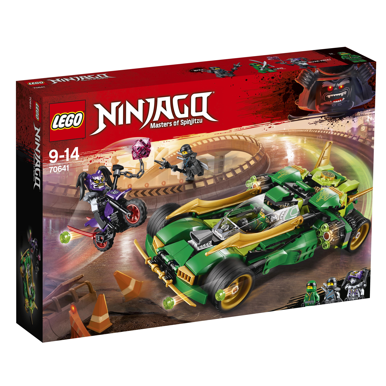 Конструктор LEGO Ninjago 70641 Ночной вездеход ниндзя конструктор lego ninjago механический дракон зеленого ниндзя 70612