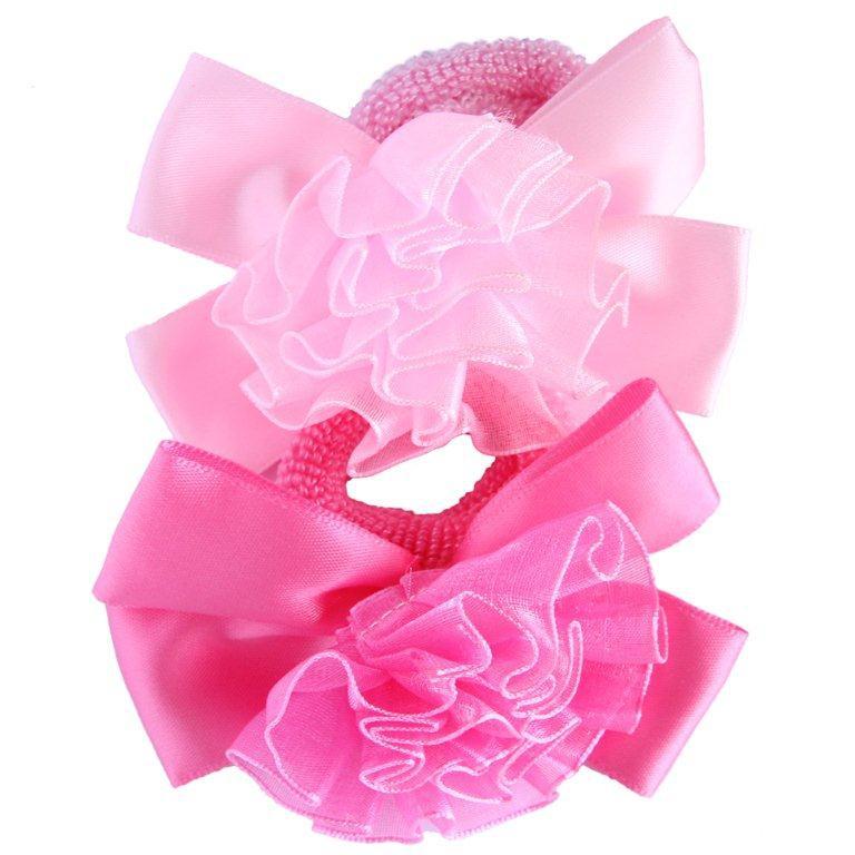 Резинка для волос Принчипесса Белый/розовый резинка для волос baby s joy al 969 бежевый