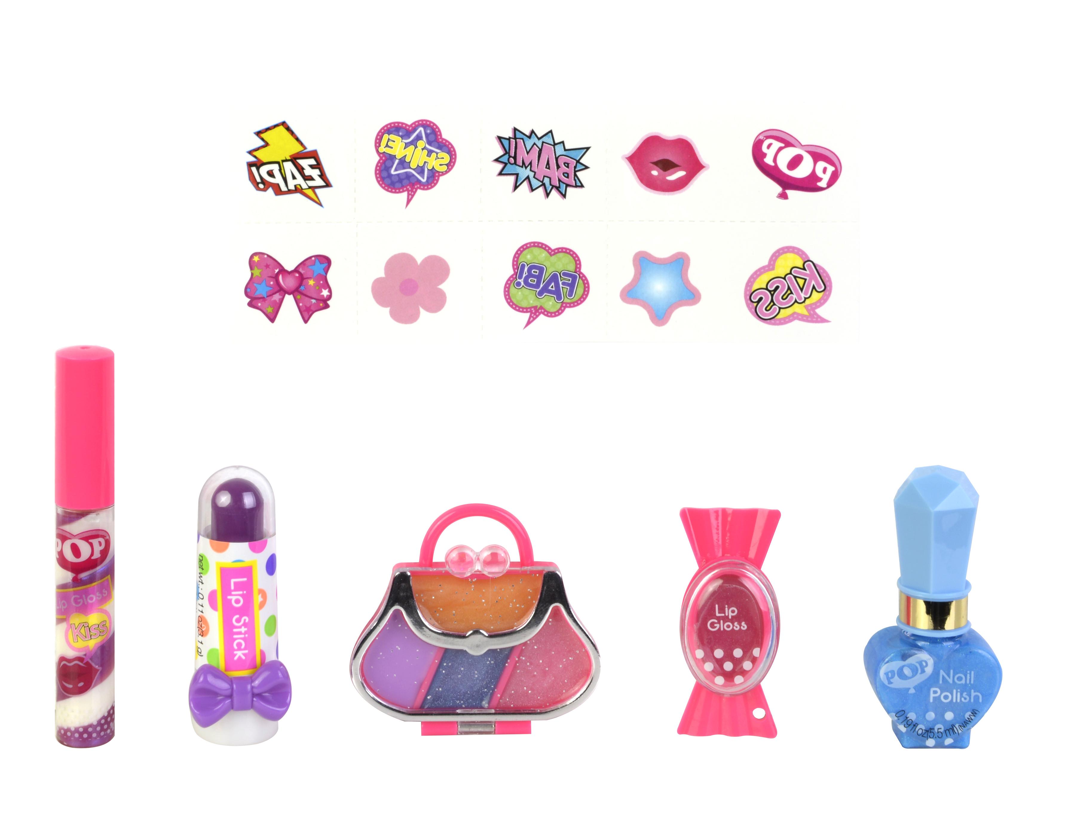 Наборы косметики POP Girls для губ и ногтей наборы декоративной косметики divage набор 21 блеск для губ vinyl gloss 3216 карандаш для губ transparent