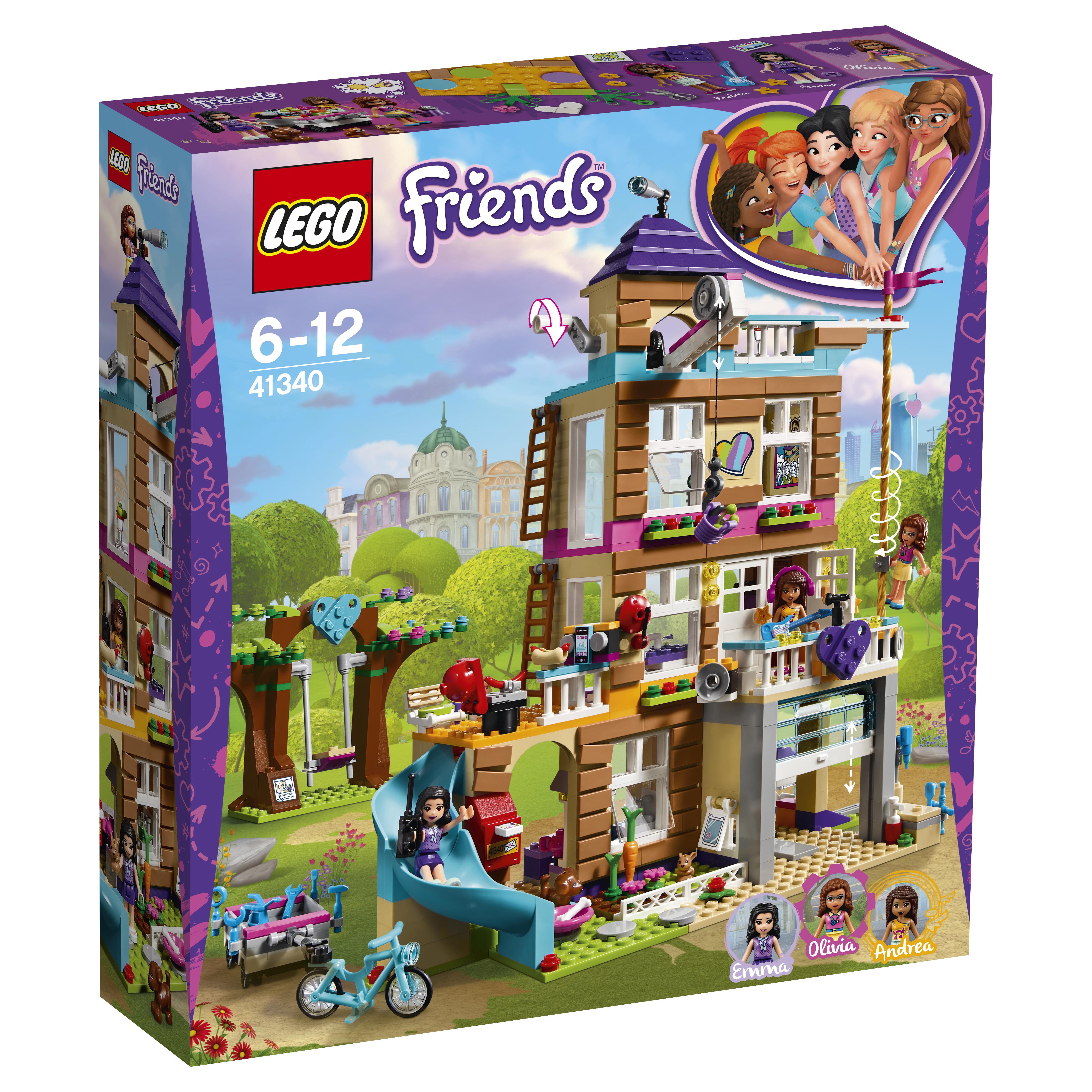 LEGO LEGO Friends 41340 Дом дружбы lego конструктор lego friends 41340 дом дружбы