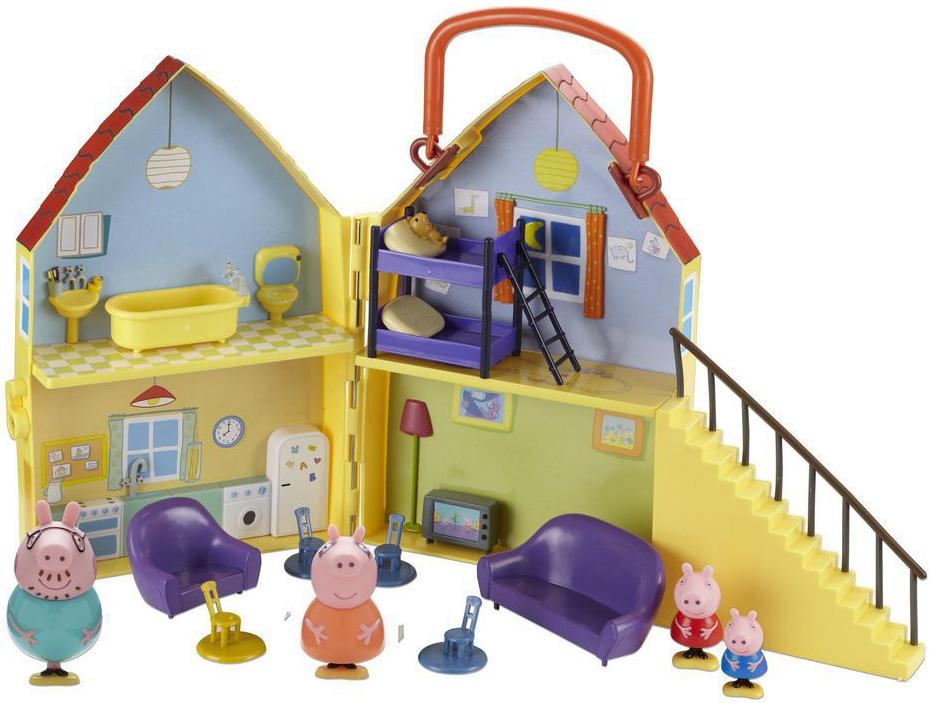 Peppa Pig Дом Пеппы игровой набор peppa pig игровой набор машина пеппы