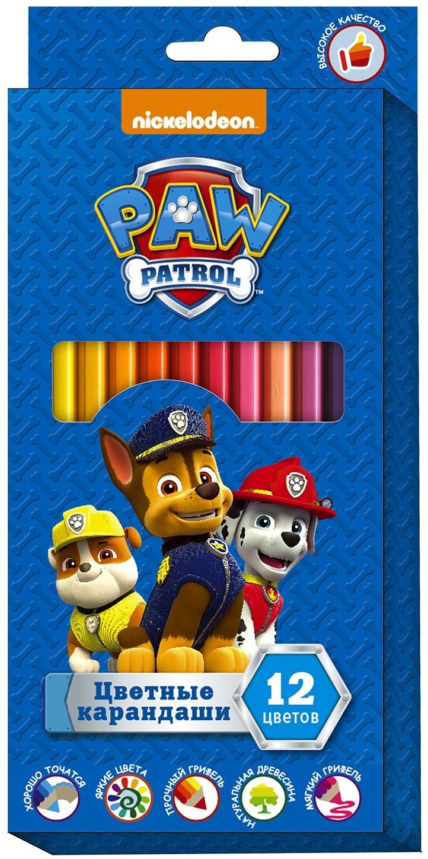 Цветные карандаши и мелки для рисования Paw Patrol Щенячий патруль недорого