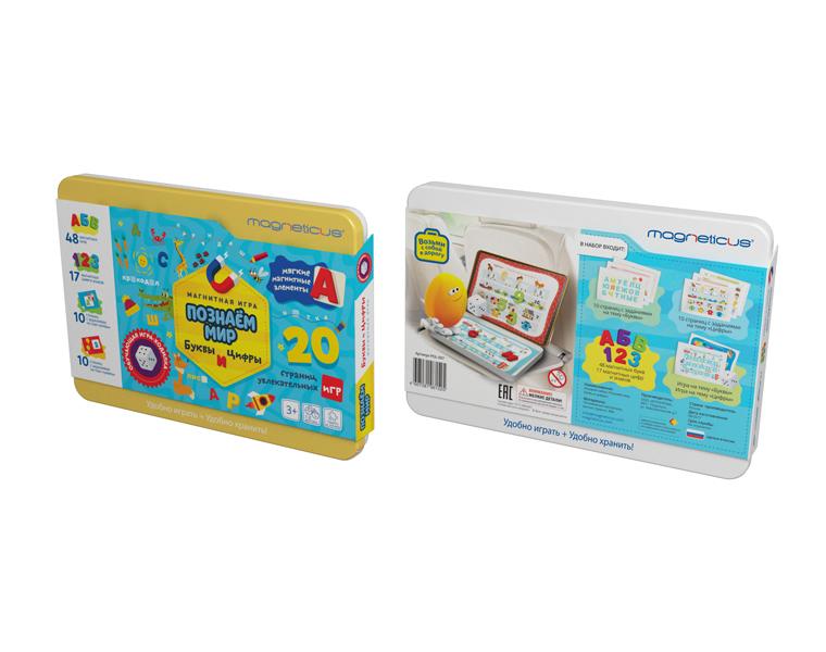 Развивающие игрушки Magneticus Буквы и Цифры игровой набор magneticus мягкие магнитные цифры num 002