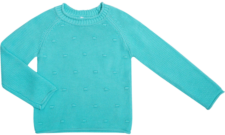 Пуловер для девочки Barkito «Весенние бабочки», мятный толстовки barkito весенние бабочки