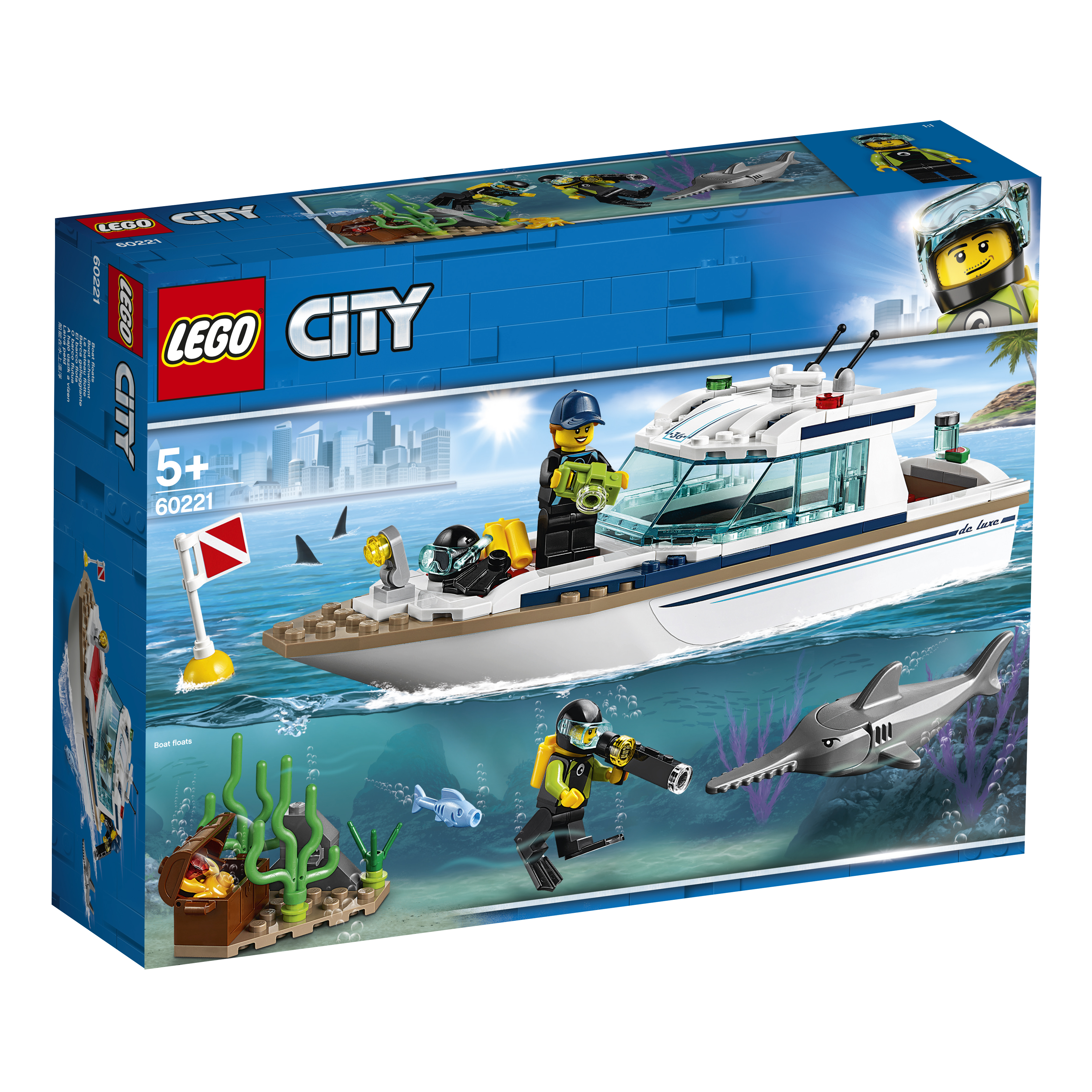 LEGO LEGO City Great Vehicles 602221 Яхта для дайвинга