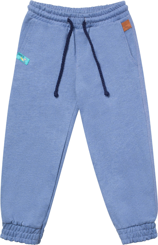 брюки для мальчика Barkito Путешествие в космос 1 трикотажные синий
