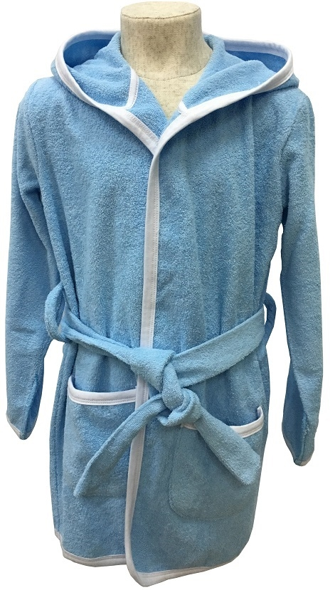Халаты Allini голубой